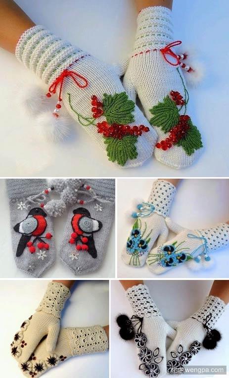 圣诞节手套