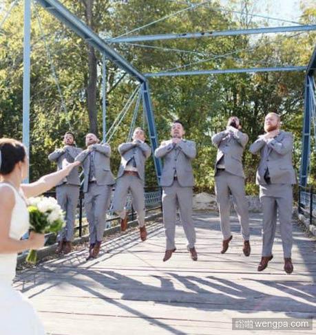 最好的婚礼恶搞合影