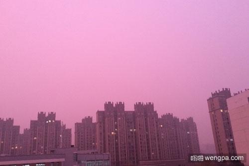 南京粉红色雾霾  玫瑰粉红雾霾怎么回事