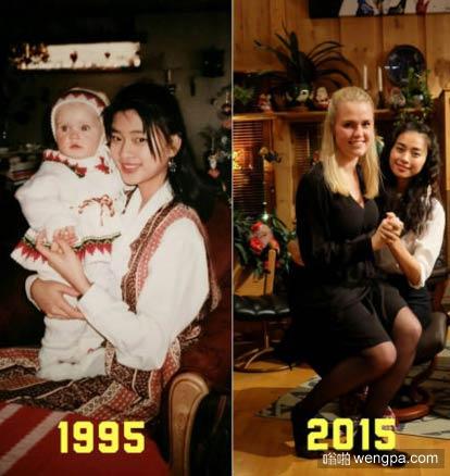 搞笑图片 20年的变化 - 嗡啪搞笑