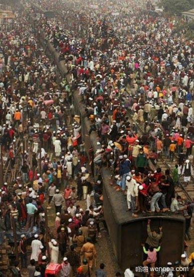 印度阿三的春运