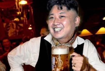 金正恩:韩国啤酒真难喝
