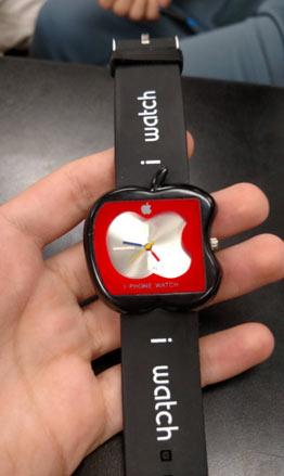 """苹果中的苹果 苹果""""新款""""i watch 手表"""
