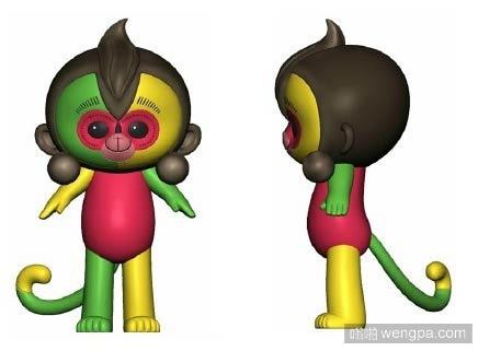 猴年春晚吉祥物