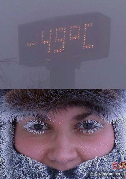 西伯利亚零下49度时是什么样