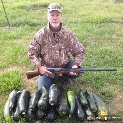 一个喜欢打猎的素食主义者