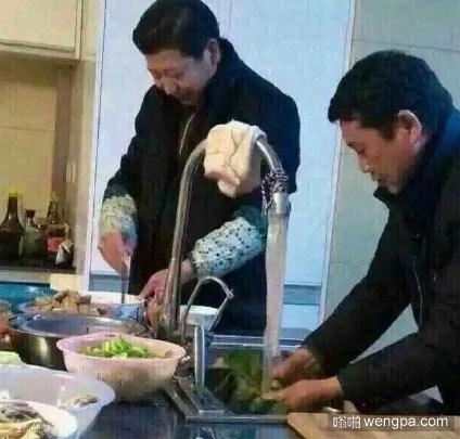 北京的表哥回家过年了,非要给我露一手他的拿手菜