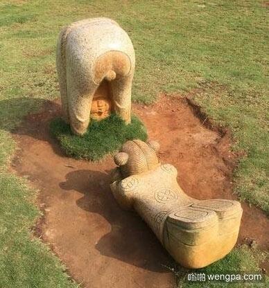 这城市雕塑是什么鬼