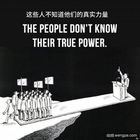 当然这不是在中国_讽刺漫画_政治选举 - 嗡啪网