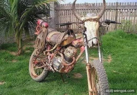 很牛的摩托