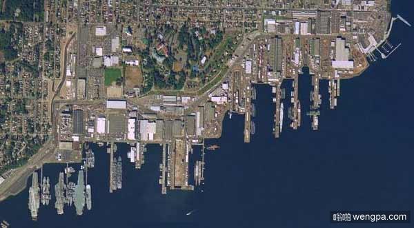 基沙普海军基地 世界上兵力最豪华的海军基地