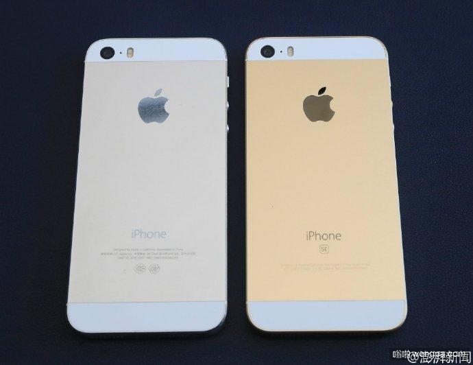 苹果最新发布的iPhone SE 和苹果iPhone 5系列的对比