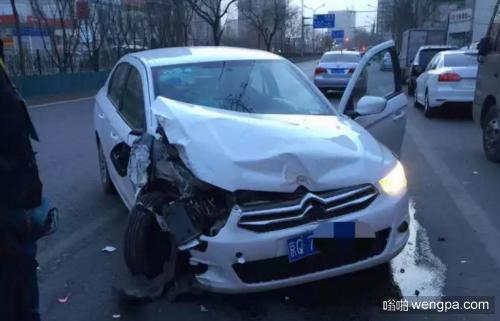 "uber车祸门:乘客坐""Uber""撞至脑震荡  因司机疲劳驾驶"