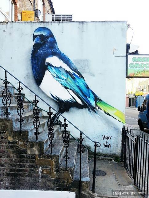 伦敦街头艺术