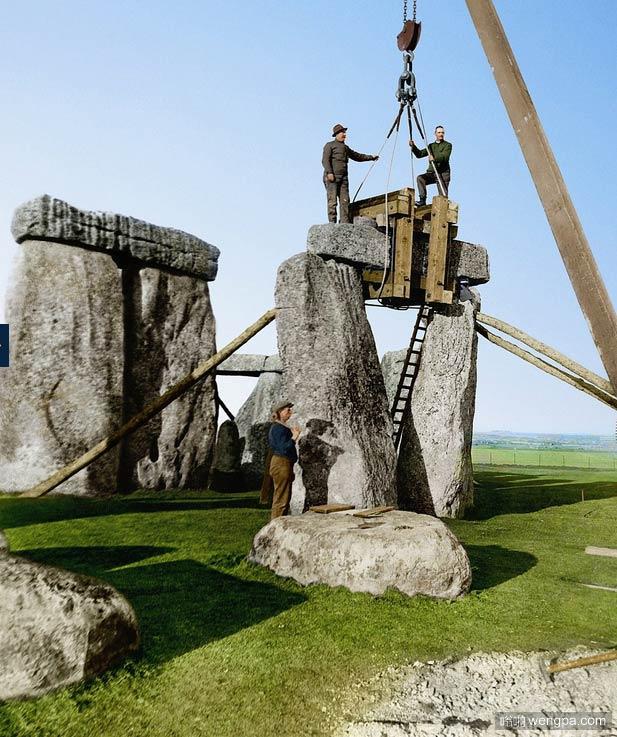 修复巨石阵