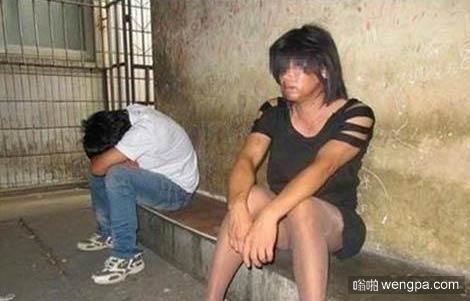 男子扮女子性交易当场被抓