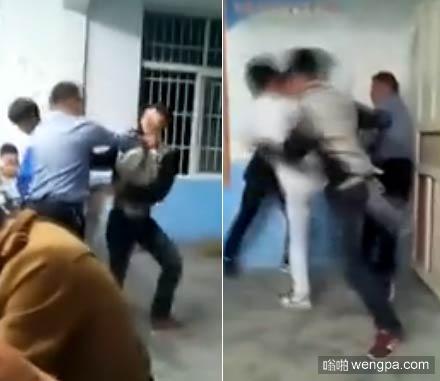 【视频】中学学生群殴老师 安徽中学生群殴老师 抡板凳狠砸