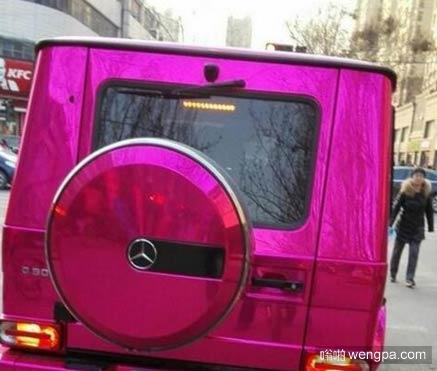 玫瑰红奔驰G50 - 嗡啪汽车