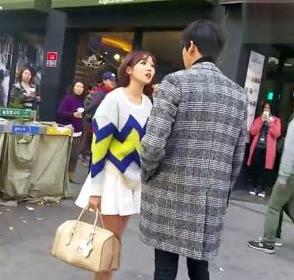 【内涵段子】逛街听到一对小情侣吵架