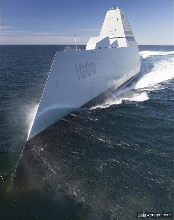 美国海军DDG-1000驱逐舰将交付