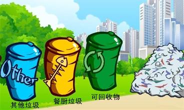 【搞笑段子】小区放了四个垃圾筒,大力推广垃圾分类