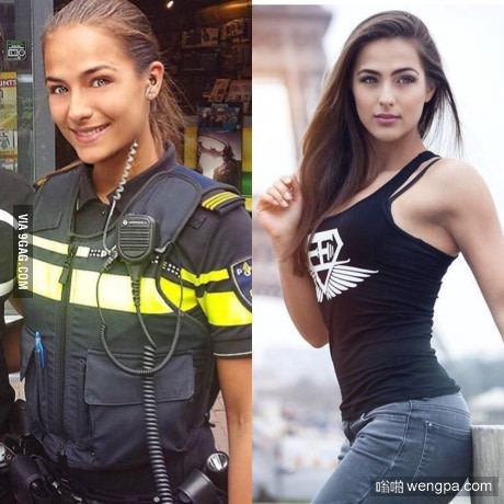 美女图片:荷兰美女警察 想被逮捕有没有-嗡啪美女图片