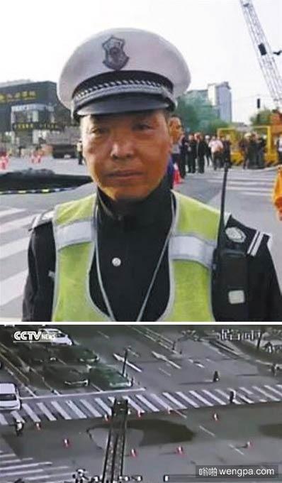 """【视频】英雄协警视频 杭州交通协警意外成""""世界网红"""""""