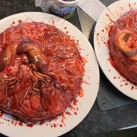 恐怖蛋糕图片:内脏