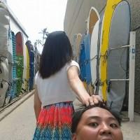 老婆,牵我的手,不是头发