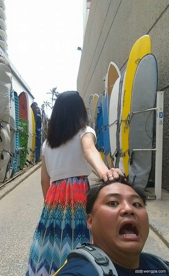 秀恩爱哪家强  老婆,牵我的手,不是头发