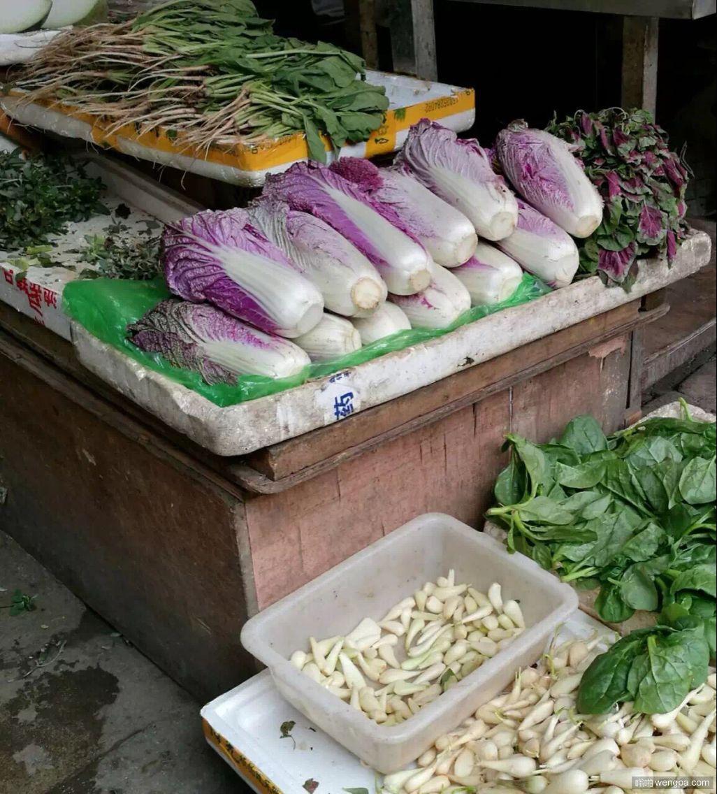 紫色白菜 有谁吃过好吃吗