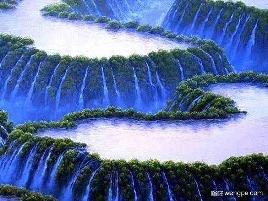 令人难以置信的美!伊瓜苏瀑布