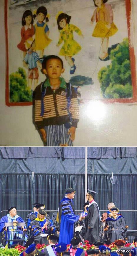 第一天上学和最后一天上学-嗡啪搞笑图片