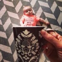 真会照相 如何把宝宝装进马克杯