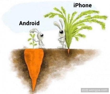 关于安卓和iPhone