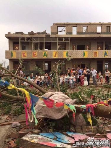 江苏北部龙卷风冰雹袭击致78人遇难 200余人重伤