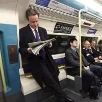 """地铁中偶遇各国""""领导人"""""""