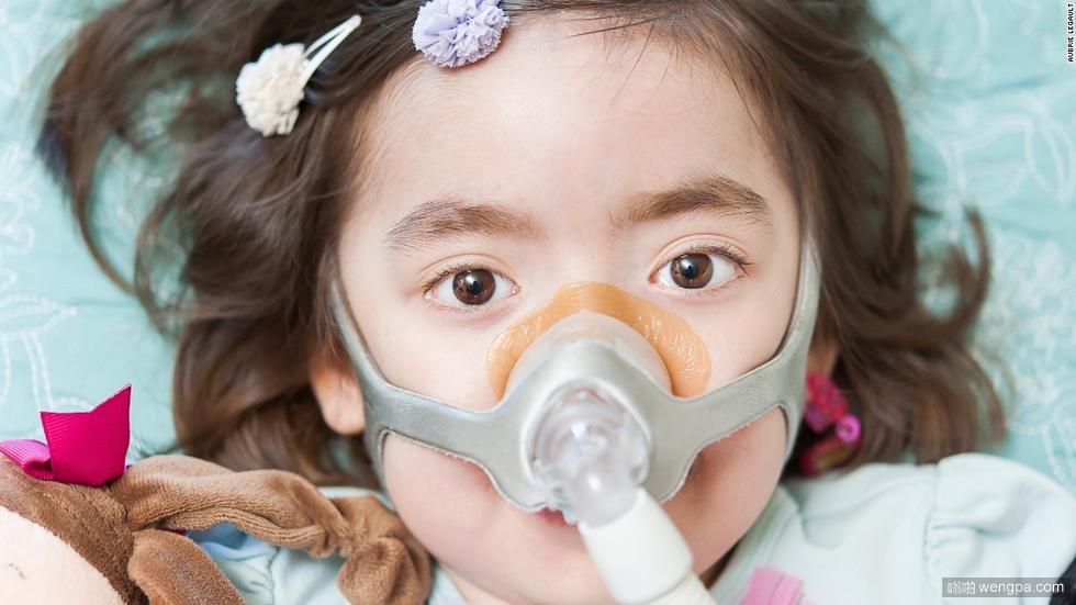 心酸的故事!一个5岁小姑娘自己决定了自己的生死(组图)