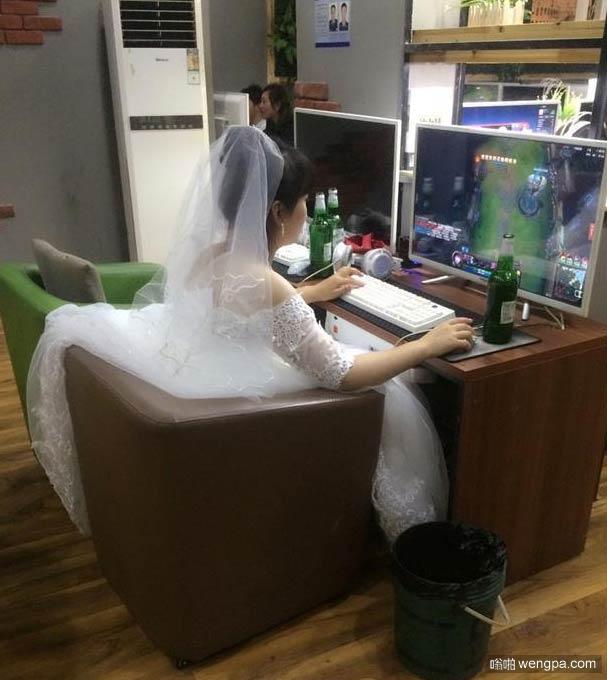 一定是个有故事的新娘