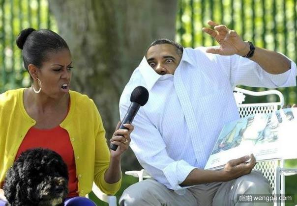 奥巴马有史以来最佳照片-嗡啪搞笑图片