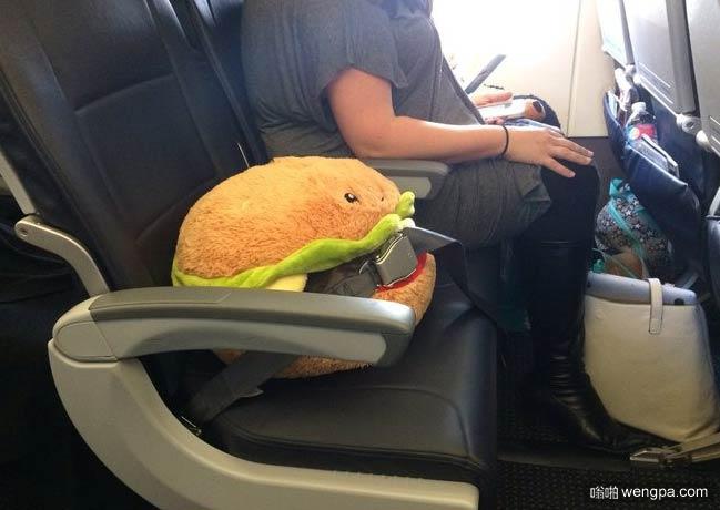 那个汉堡你买票了吗