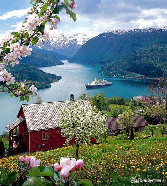 Sognefyord,挪威峡湾