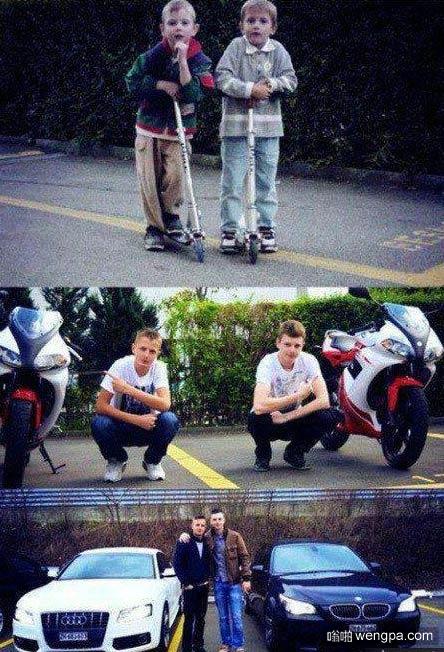 他們還有一個好兄弟就是我 我沒錢買車只能默默的為他們拍照