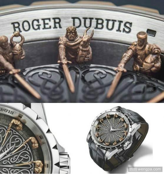 RogerDubuis罗杰杜彼,这款手表价格大约在26.8万美金-嗡啪网
