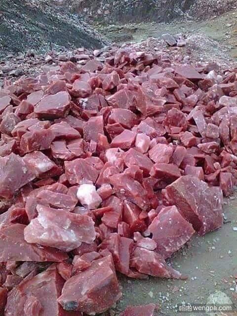 这不是吃的:这是来自土耳其的樱桃大理石