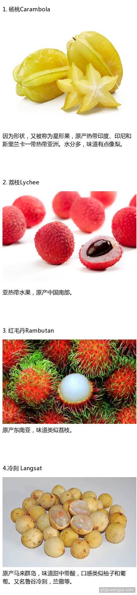 世界上一些奇怪的水果 看看你吃过哪几个(组图)