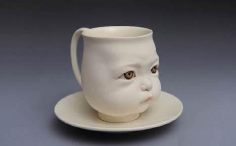 香港当代陶瓷艺术家曾章成(Johnson Tsang)的作品