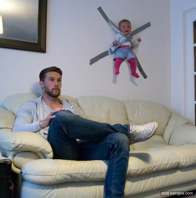 为什么不要让爸爸带孩子