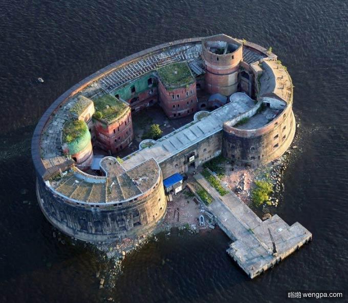 俄罗斯邪恶大厦 圣彼得堡亚历山大瘟疫城堡