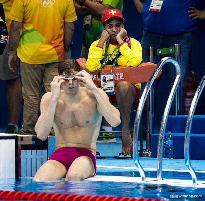 """奥运游泳场馆的救生员: """"我存在的意义是什么,感觉永远都不会开工."""""""